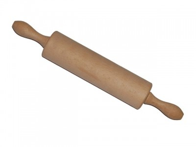 Rolling pins with rotating handle