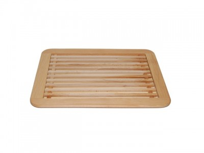 Chopping board for cutting bread