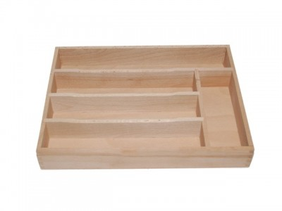 Cutlery holder, beech wood