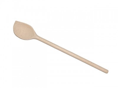 Pointed mixing spoon, maple