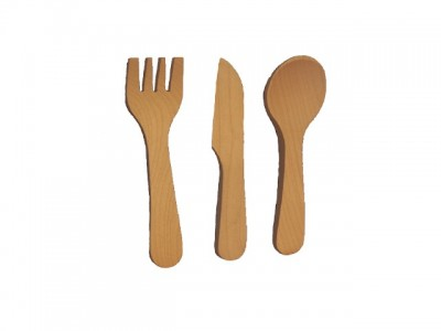 Cutlery for children (spoon,fork,knife)